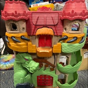 Imaginext Dragon World Castle